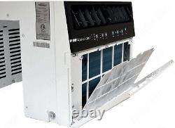 8000 Btu Saddle Window Climatiseur, 375 Sqft Low Profile Energy Star Unité Ac