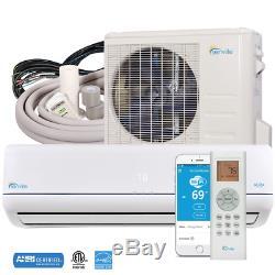 9000 Btu Ductless Mini Split Climatiseur Et Pompe À Chaleur 25 Seer Energy Star