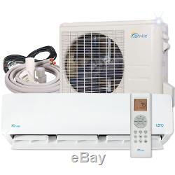 9000 Btu Mini Climatiseur Split Avec Pompe À Chaleur À Distance Et Le Kit D'installation