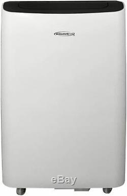 Air Soléaire 10 000 Btu Ashrae Portable Climatiseur Avec Télécommande, Blanc