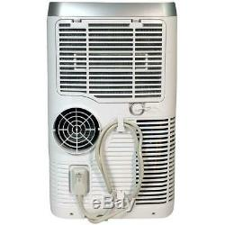 Air Soléaire 12 000 Btu Ashrae Portable Climatiseur Avec Télécommande, Blanc