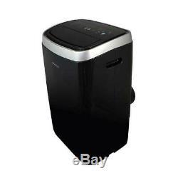 Air Soléaire 14 000 Btu Ashrae Portable Climatiseur Avec Chaleur, Noir