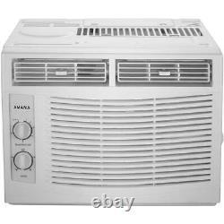 Amana 5000 Btu 150 Pieds Carrés Climatiseur De Fenêtre Blanc