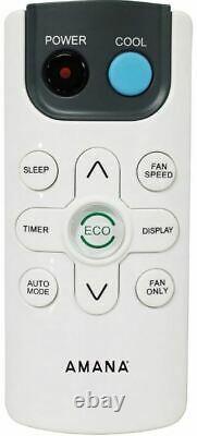 Amana 8000 Btu 350 Pieds Carrés Climatiseur Fenêtre Avec Télécommande