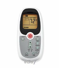 Arctic Roi 7000 Btu Climatiseur Portable Avec Télécommande, Blanc