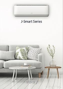 Aux Mini Split Air Conditioner Onduleur Pompe À Chaleur Sans Conduit 24000 Btu 230v 12 Pi