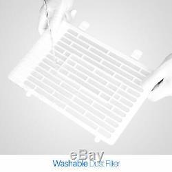 Blanc 9000 Btu Climatiseur Portatif Dehumidifier À Distance Ventilateur Avec Kit Fenêtre