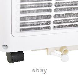 Climatiseur Mobile Homcom Avec Refroidissement Rc Déshumidifiant Ventilateur 7000 Btu