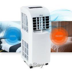 Climatiseur Portable Cooler Dehumidifier Fenêtre Kit Ac Minuterie À Distance 8,000btu