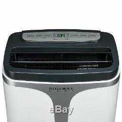 Climatiseur Portable Ventilateur Déshumidificateur 12000 Btu 3-en-1 Ac, Installation Facile