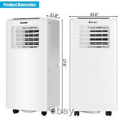 Costway 10 000 Btu Climatiseur Portatif Refroidisseur D'air Et Déshumidificateur Et Mode Ventilateur