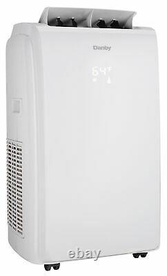Danby 12 000 Btu 3 En 1 Ventilateur De Déshumidificateur D'air Portable Dpa120e1wdb