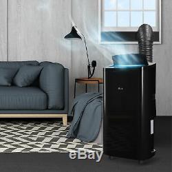 Della 14000 Btu Portable A / C Climatiseur + 1050w + Chauffage + Ventilateur Déshumidificateur