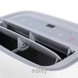 Della 14 000 Btu Climatiseur Portable Dehumidifier Ac À Distance Kit Fenêtre