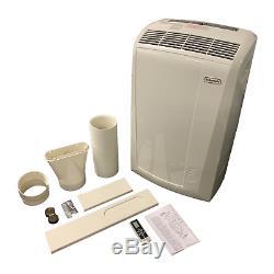 Delonghi 400 Sq. Ft. 3-in-1 Portable Climatiseur Avec Ventilateur Et Déshumidificateur