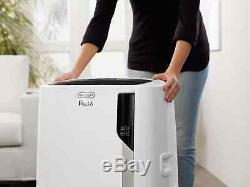 Delonghi Pinguino 12 000 Btu Ashrae Portable Climatiseur Avec Chaleur, Blanc
