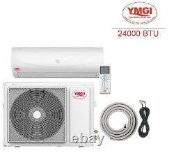Ductless Mini Split Air Conditioner Pompe À Chaleur Ymgi 24000 Btu 2 Tonne