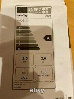 Exceline Français Portable De Climatisation 9000btu 2.06kw Classe A À Distance