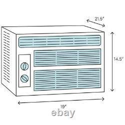 Frigidaire 10000 Btu Fenêtre Climatiseur, 450 Pieds Carrés Compact Room Home Ac Unit