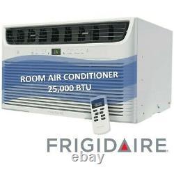Frigidaire Ffre253wae 25 000 Climatiseur De Chambre Monté Sur Fenêtre Btu