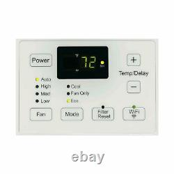 Ge Wifi Smart Window Air Conditioner 18 000 Btu W Remote (certifié Remis À Neuf)