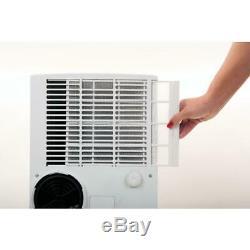 Haier 10 000 Btu Ashrae Portable Climatiseur Avec Déshumidificateur, Blanc