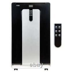 Haier 13500 Btu 115v Double Tuyau Portable Climatiseur Avec Télécommande (occasion)