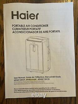 Haier Hpnd14xhp 14 000 Btu Standing Portable Air Conditioner Ac Unit With Heat