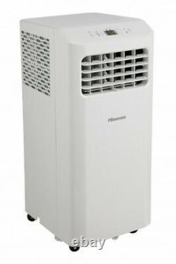 Hisense 8,000 Btu Ashrae 115-volt Air Conditioner Portable, Blanc, Ap0819cr1w