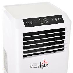 Homcom Climatiseur Mobile Avec Télécommande De Refroidissement Mode Veille 9000btu