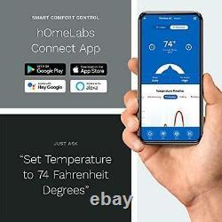 Homelabs 8 000 Btu Fenêtre Climatiseur Cool Avec Smart Control Et Kit Fenêtre
