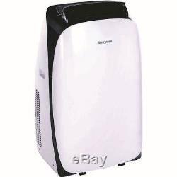 Honeywell Hl12ceswk 12 000 Btu Climatiseur Portable Unité A / C Blanc / Noir