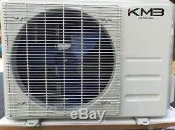 Kmb Kac-12ch 12000btu Ductless Mini-split Climatiseur Pompe À Chaleur 19 Seer 110v