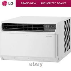 Lg 22000 Btu Dual Onduleur Smart Wi-fi Enabled Window Air Conditioner Lw2217iv