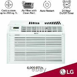 Lg 6000 Btu 3-speed 260 Sq. C'est Parti. Climatiseur De Fenêtre