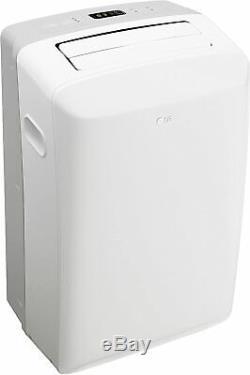 Lg 8000 Btu Ashrae 115 Volts Climatiseur Portable Avec Télécommande, Blanc