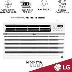 Lg Electronics Energy Star 10000 Btu 115-volt Climatiseur De Fenêtre Avec Wi-fi