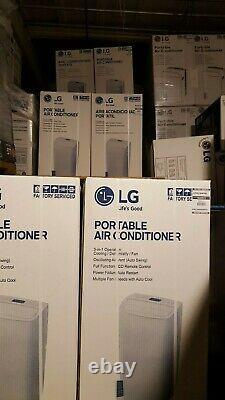 Lg Lp1217gsr / Lp1218gxr 12 000 Btu Climatiseur Portable, Déshumidificateur, Télécommande