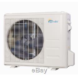 Mini Btu 18000 Climatiseur Split Avec Pompe À Chaleur À Distance Et Le Kit D'installation