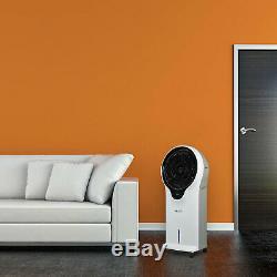 Newair Portable Climatiseur Cooler Tour Fan Évaporatif Avec Télécommande, Blanc