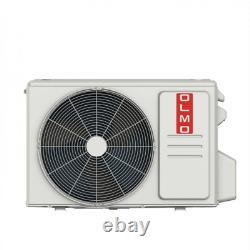 Olmo 24 000 Btu Mini Climatiseur Split Avec Le Kit D'installation De Pompe À Chaleur
