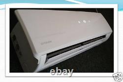 Pompe À Chaleur De 1 Tonne, 18 Seer, 12000 Btu Mini Split Air Conditioner Wi-fi Controller