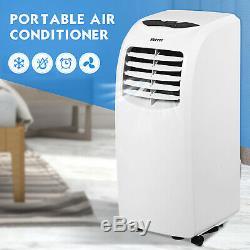 Portable 10000btu Climatiseur Dehumidifier Fonction À Distance Avec Fenêtre Kit