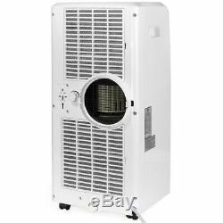 Portable 8000 Btu Ac Climatiseur Ventilateur Déshumidificateur A / C Avec Télécommande Blanche