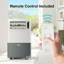 Qomfy 4 En 1 Climatiseur Portable Avec Chauffage 14 000 Btu Ashrae/ 8 000 Btu Doe