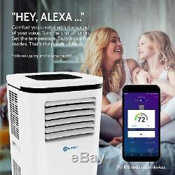 Rollicool 12000btu Portable Climatiseur / Déshumidificateur / Ventilateur Voice & Control App