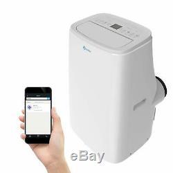 Rollicool App-activé 14000 Btu Portable Chauffage Climatiseur Dehumidifier A20