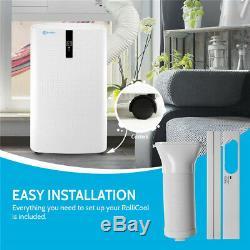 Rollicool Portable 12 000 Btu Climatiseur Mobile App Avec Chauffage Ventilo Ac