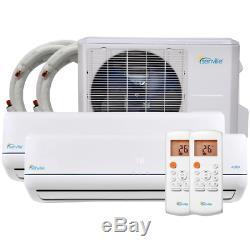 Senville 36000 Btu Mini Climatiseur Split Multi Zone Ductless Ac Pompe À Chaleur