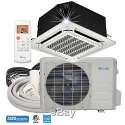 Senville 9000 Btu Plafond Cassette Climatiseur Avec Mini Split Pompe À Chaleur